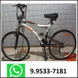 Bicicleta Caloi XRT - Aro 26 - 21 Marchas - Full Suspension