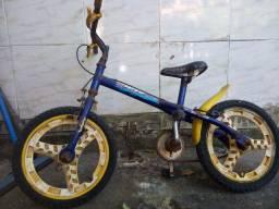 Bicicleta e monitor
