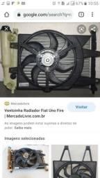 Radiado com ventilador completo uno