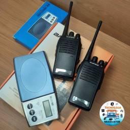 kit balança de precisão + rádio comunicador