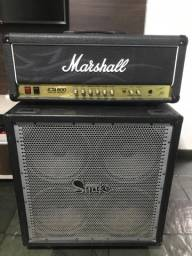 Cabecote Marshall jcm800 kerry king amplificadores guitarra