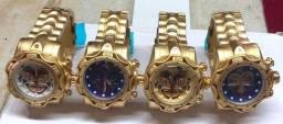 Relógio invicta Cara de palhaço