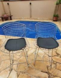 Título do anúncio: 02 cadeiras bistrô Bertoia