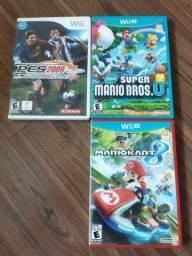 Título do anúncio: Jogos Wii e Jogos Wii U
