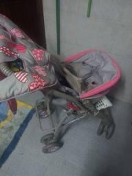 Carrinho de bebê, usado, marca Galzerano