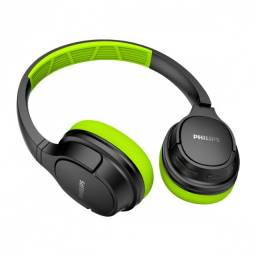 fone de ouvido wireless supra auricular verde