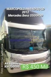 Título do anúncio: Marcopolo paradiso 1600 LD G7 2012