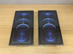 Título do anúncio: iPhone 12 Pro 256gb Azul // Lacrado // Loja Física /