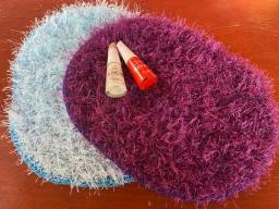 Título do anúncio: Tapetinho de crochê para manicure