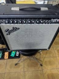 Título do anúncio: Amplificador Fender Frontman 65R reverb mola estado de Novo!