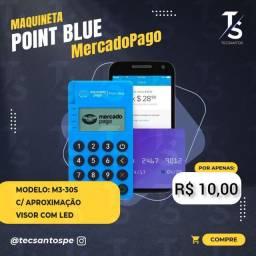 Point Mini M3-30S Maquineta Mercado Pago Bluetooth (Precisa do Celular)