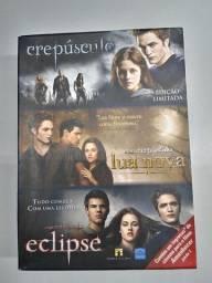 Box dvd triologia Crepúsculo