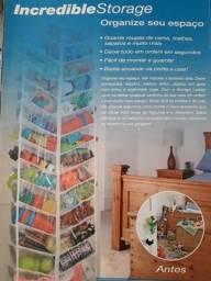 Organizador de toalhas, roupas de camas, sapatos ou brinquedos. Franca/SP