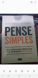 Título do anúncio: Vendo Livro Pense Simples