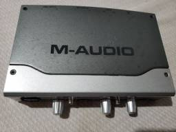 M-audio interface