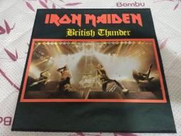 Título do anúncio: Lp Iron maiden British thunder