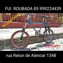 Bicicleta ROUBADA. Relíquia brandani