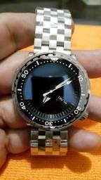 Título do anúncio: Relógio Automático 200m Customizado Steeldive Addies Nh36 Calendário Duplo