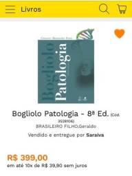Vendo livro Bogliolo Patologia 8a edição