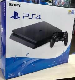 PS4 SLIM 500GB - Novo Lacrado com NF e garantia de 1 ano