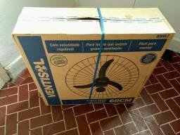 Vendo ventilador 60cm comercial na caixa novo lacrado