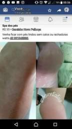 Promoção de spar dos pés de 35 por 20 reais