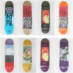 Shape maple e Shapes marfim future Skateboards tamanhos 7.75, 7.8, 8.0 e 8.25