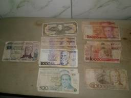 Notas Antigas: Brasileiras e Argentinas
