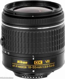 Lente Nikon AF-P DX 18-55mm VR Nova versão