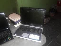 Notebooks para retirada de peças e uma fonte de emergia