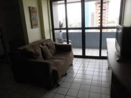 Apartamento Boa Viagem com Divisão quarto e sala mobiliado