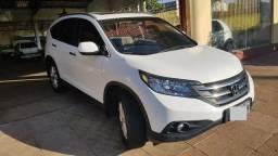 Honda Cr-v EXL 2.0 4WD 2012 Branca Impecável Completa - 2012