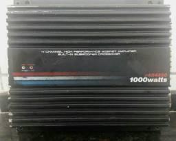 Amplificador Automotivo pyramid pab4250 1000watts