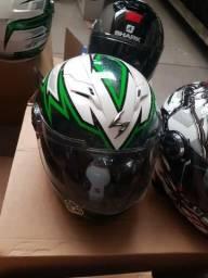 Capacete Scorpion EXO 500 Dacosta Green L - M