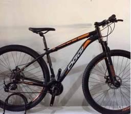 Bicicleta Oggi Hacker Sport Aro 29 Preto E Laranja 2017