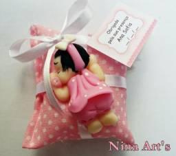 Lembrancinha Chá de bebê Nascimento em biscuit