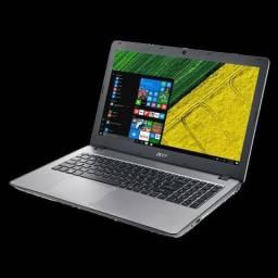 Notebook Acer Aspire F5-573-51LJ, na cor prata, processador 7° geração Intel Core i5-7200U