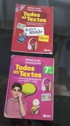 Livro Todos Os Textos 7° Ano + Bloco De Redação