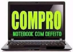 Notebook com problema