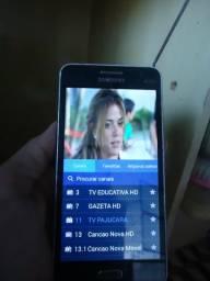 Celular samsung com tv hd