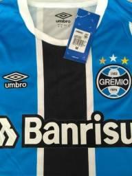 df102dddf6 Camisa Umbro Gremio 2017 2018 Tamanho