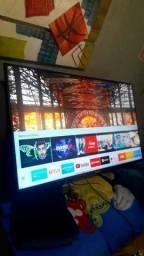 Tv smart 43 4 k sansung led wifi nova 2 meses de uso n,plasticos torro 1290
