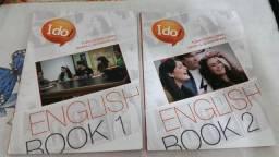 Curso de Inglês Ido Language School contendo 4 DVD's, 4 CD'S + ( 6 livros* )