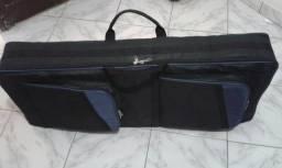 Bags para violão e teclado com alça de mão e de costas igual mochila