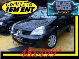 Clio Completo! Sem Ent. nao logan sandero corsa sedan fiesta gol fox palio 207 classic - 2008