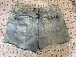 Short Jeans Damyller desfiado (42)