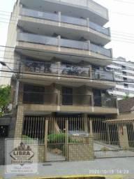 Apartamento 2 quartos (1 suíte com varanda e closet), salão com lareira, varanda, banheiro
