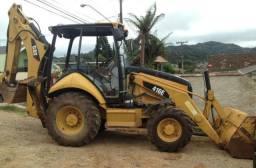 Retro escavadeira 416 E Caterpillar 2012