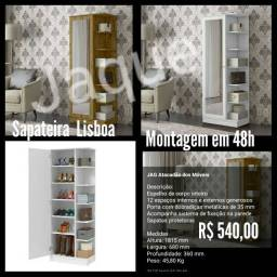 Sapateira Lisboa/ Montagem em 48h.