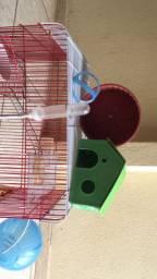 Gaiola/ Casinha de hamster